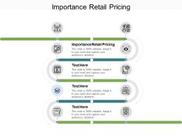 Importance Retail Pricing Ppt Powerpoint Presentation Layouts Objects Cpb