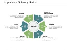 Importance Solvency Ratios Ppt Powerpoint Presentation Inspiration Graphics Example Cpb