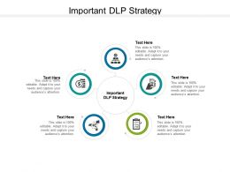Important DLP Strategy Ppt Powerpoint Presentation Show Cpb