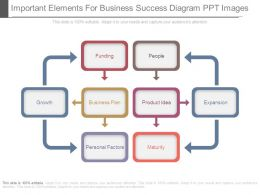 Important Elements For Business Success Diagram Ppt Images