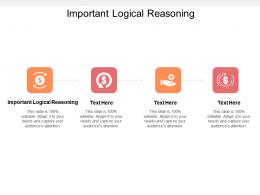 Important Logical Reasoning Ppt Powerpoint Presentation Infographic Template Show Cpb