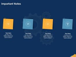 Important Notes Attention N142 Ppt Powerpoint Presentation Brochure