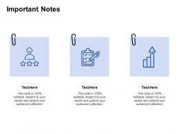 Important Notes Checklist Growth C100 Ppt Powerpoint Presentation Icon Styles