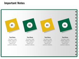 Important Notes Editable M1240 Ppt Powerpoint Presentation Infographics Maker