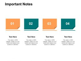 Important Notes Education A561 Ppt Powerpoint Presentation Gallery Designs