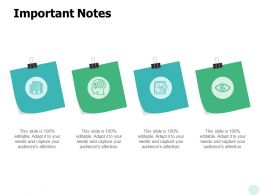 Important Notes Education A634 Ppt Powerpoint Presentation Pictures Design Templates