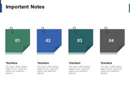 Important Notes Education Ppt Infographic Template Example Introduction