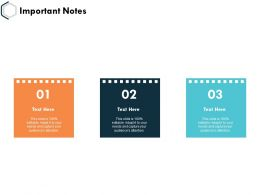Important Notes Management K28 Ppt Powerpoint Presentation Slides Guide