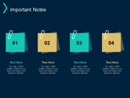Important Notes Management Process Ppt Powerpoint Presentation Inspiration Icons