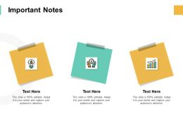 Important Notes Post It Ppt Powerpoint Presentation Pictures Show