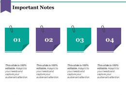 Important Notes Powerpoint Slide Backgrounds