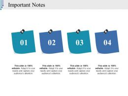 Important Notes Ppt Background Images