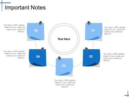 Important Notes Ppt Slides Backgrounds
