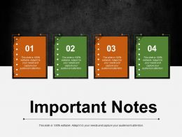 Important Notes Ppt Visual Aids Background Images