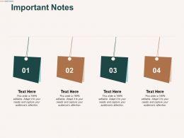 Important Notes Process Management C483 Ppt Powerpoint Presentation Show Diagrams