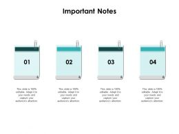 Important Notes Sticky Notes F778 Ppt Powerpoint Presentation Professional Model