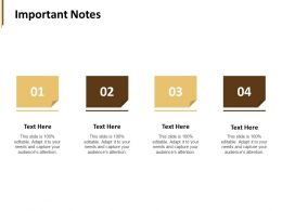 Important Notes Sticky Notes F786 Ppt Powerpoint Presentation Pictures Display
