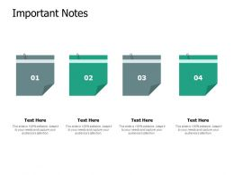 Important Notes Sticky Ppt Powerpoint Presentation Pictures Styles
