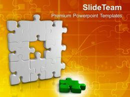 Important Part Of Puzzle Business Powerpoint Templates PPT Themes And Graphics 0113