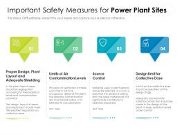 Important Safety Measures For Power Plant Sites