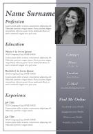 Impressive Resume Format For Job Seekers