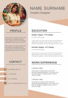 Impressive Resume Sample With Job Experience