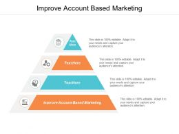 Improve Account Based Marketing Ppt Powerpoint Presentation Infographic Template Ideas Cpb