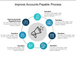 Improve Accounts Payable Process Ppt Powerpoint Presentation Summary Show Cpb