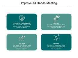Improve All Hands Meeting Ppt Powerpoint Presentation Summary Rules Cpb