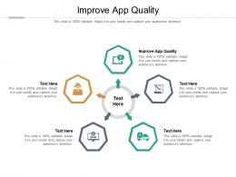 Improve App Quality Ppt Powerpoint Presentation File Elements Cpb