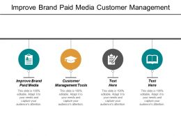 Improve Brand Paid Media Customer Management Tools Brand Advocacy Cpb