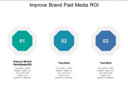 Improve Brand Paid Media Roi Ppt Powerpoint Presentation Summary Display Cpb