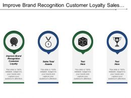 Improve Brand Recognition Customer Loyalty Sales Total Assets Climate Change