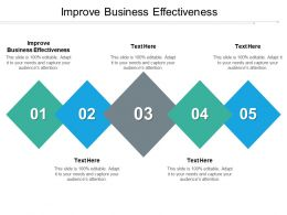 Improve Business Effectiveness Ppt Powerpoint Presentation Icon Background Designs Cpb