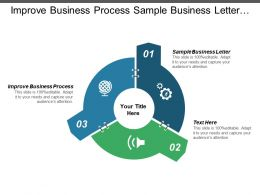 Improve Business Process Sample Business Letter Small Business Consulting Cpb