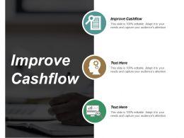 Improve Cashflow Ppt Powerpoint Presentation Design Ideas Cpb