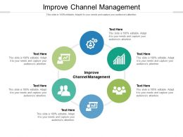 Improve Channel Management Ppt Infographic Template Slideshow Cpb