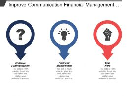 Improve Communication Financial Management Value Chain Analytics Insight
