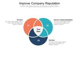 Improve Company Reputation Ppt Powerpoint Presentation Summary Slide Download Cpb