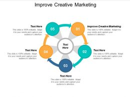 Improve Creative Marketing Ppt Powerpoint Presentation Icon Images Cpb