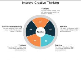 Improve Creative Thinking Ppt Powerpoint Presentation Pictures Elements Cpb