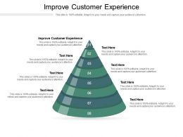 Improve Customer Experience Ppt Powerpoint Presentation Icon Tips Cpb