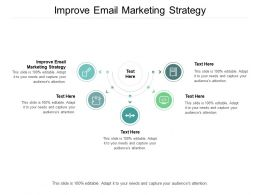 Improve Email Marketing Strategy Ppt Powerpoint Presentation Gallery Styles Cpb