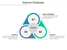 Improve Employee Ppt Powerpoint Presentation File Graphics Download Cpb