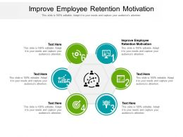 Improve Employee Retention Motivation Ppt Powerpoint Presentation Pictures Graphic Tips Cpb