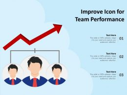 Improve Icon For Team Performance
