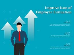Improve Icon Of Employee Evaluation
