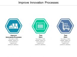 Improve Innovation Processes Ppt Powerpoint Presentation Gallery Information Cpb