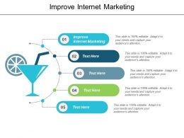 Improve Internet Marketing Ppt Powerpoint Presentation Layouts Slides Cpb
