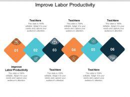 Improve Labor Productivity Ppt Powerpoint Presentation Summary Tips Cpb